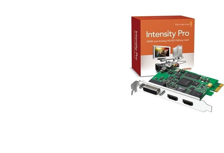Плата видеозахвата Blackmagic  Intensity Pro + Adobe CS6 Premiere Pro Mac за 2999 рублей!