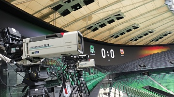 Temple of football. Television system of FC Krasnodar stadium